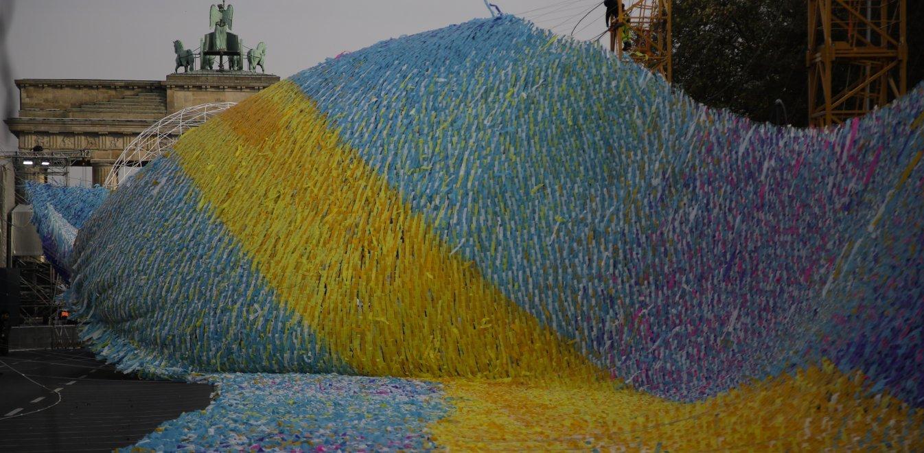 Βερολίνο: Ένα έργο τέχνης για τα 30 χρόνια από την πτώση του Τείχους
