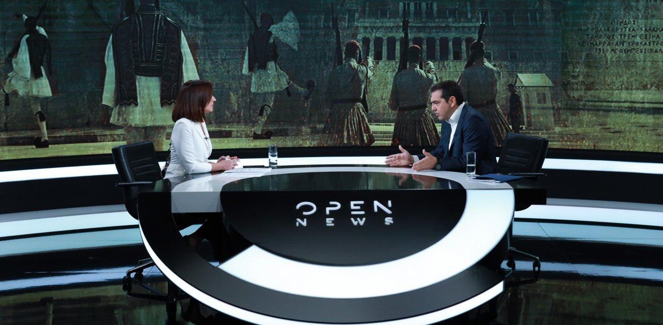 Τσίπρας στο OPEN: Αλλαξαν τον Ποινικό κώδικα για να κάνουν deals με τραπεζίτες και υπόδικους επιχειρηματίες
