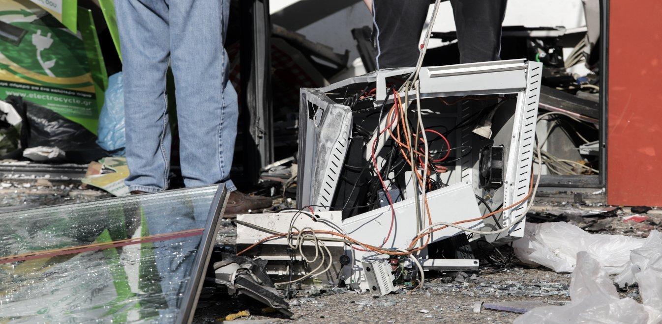 Μεγάλη έκρηξη σε ΑΤΜ στη Θεσσαλονίκη - Μεγάλες καταστροφές | Έθνος
