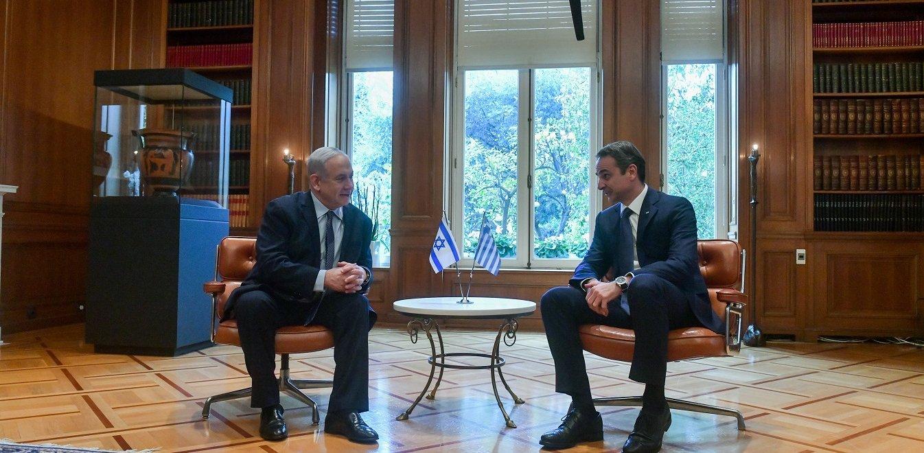 Μητσοτάκης–Νετανιάχου: Τι συζήτησαν για EastMed και συνεργασία Ελλάδας-Ισραήλ