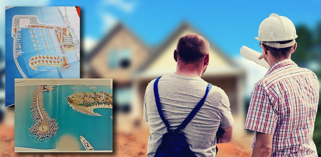 Νέα Μάκρη: H κατασκευή μαρίνας με 28 κατοικίες αλλάζει πρόσωπο στην παραλία
