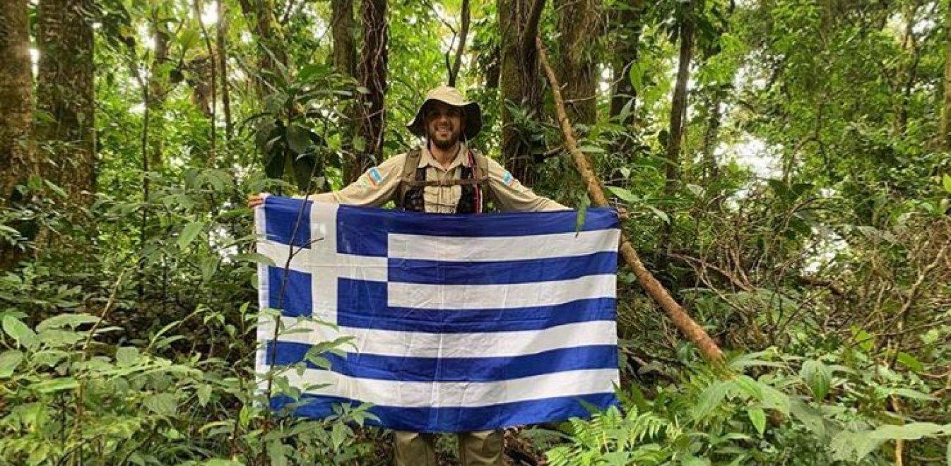Ο «ταρζάν» από την Πετρούσα Δράμας στη ζούγκλα της Κόστα Ρίκα