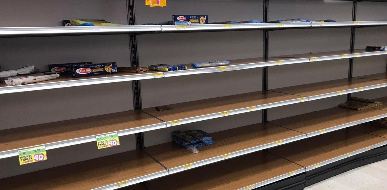 Κοροναϊός: Και τέταρτος νεκρός στην Ιταλία - Άδειασαν τα σούπερ μάρκετ