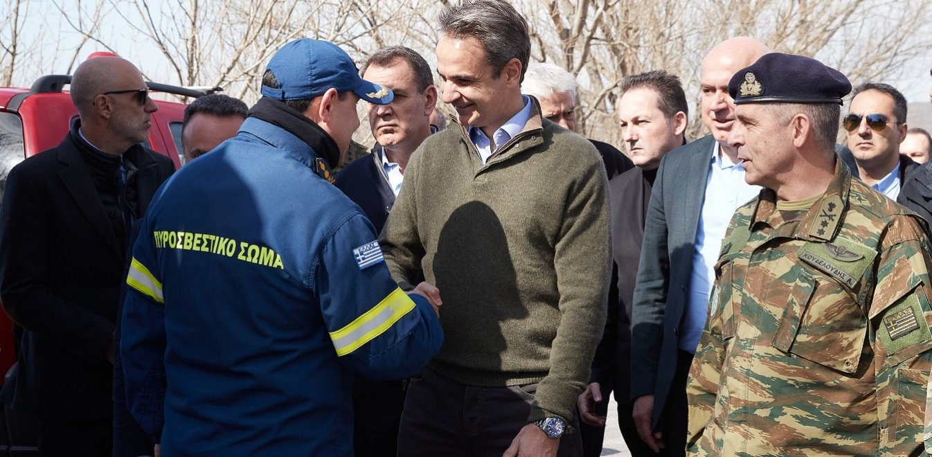 Mitsotakis: Nobody will enter illegally; Greece's borders are Europe's borders