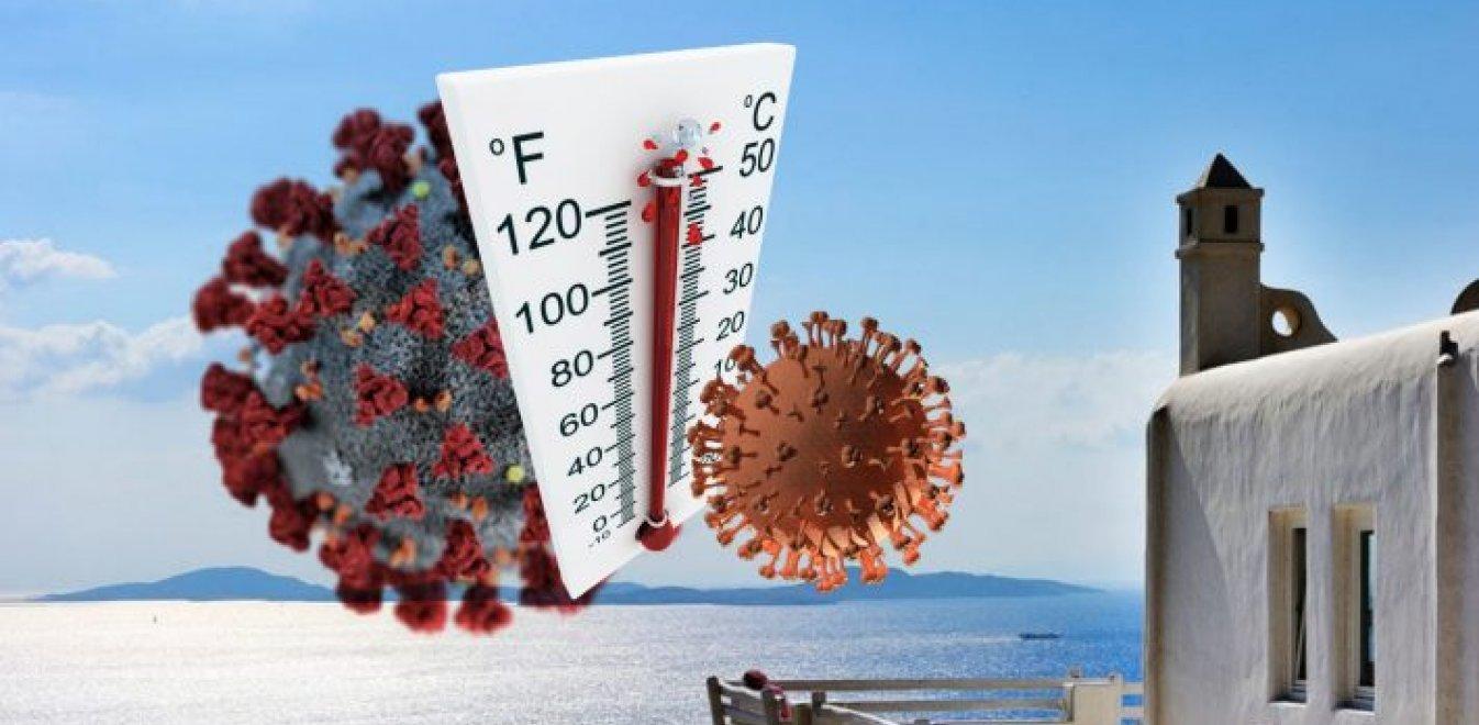 Επίπεδα καλοκαιριού Ελλάδας: Πώς αντέδρασε ο κορονοϊός σε 6 χώρες με  θερμοκρασία άνω των 27°C | Έθνος