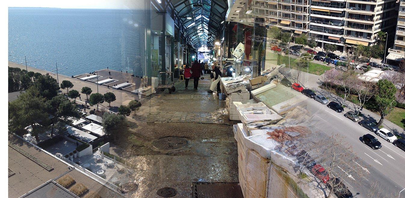 Αυτοψία του ethnos.gr: Σε καραντίνα η αγορά της Θεσσαλονίκης