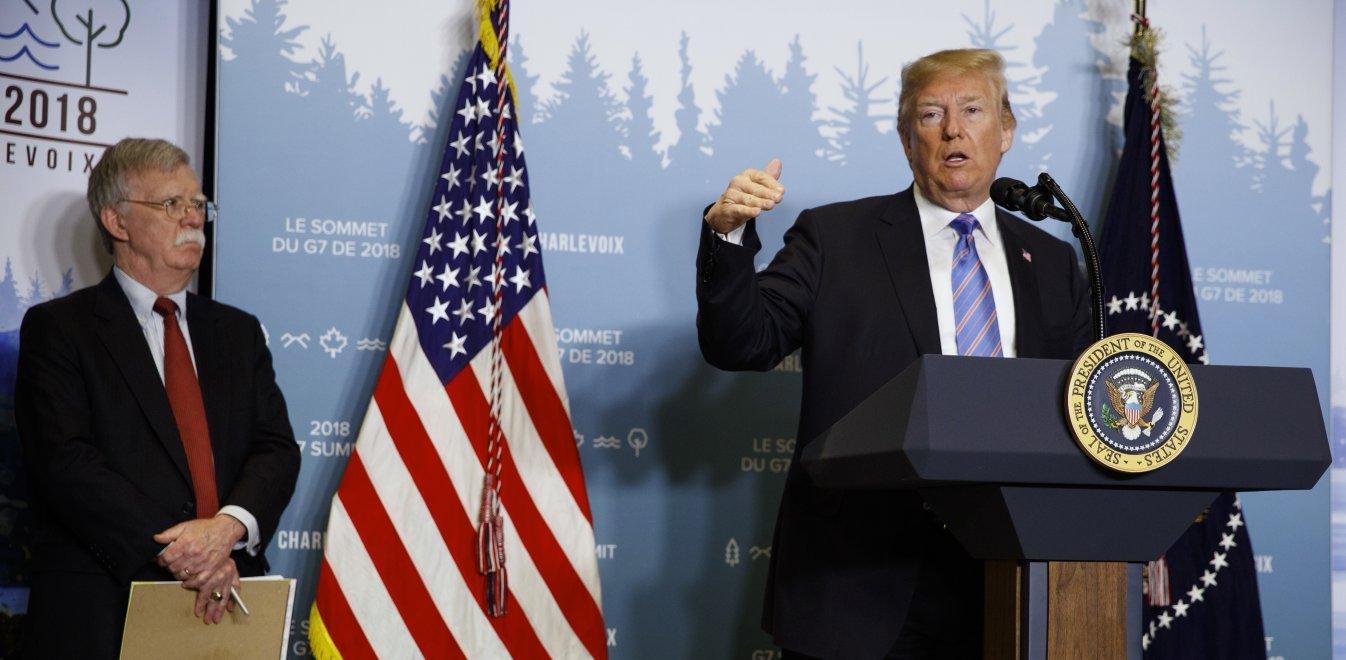 Βιβλίο Μπόλτον: Ο Τραμπ απείλησε να αποσύρει τις ΗΠΑ από το ΝΑΤΟ το 2018