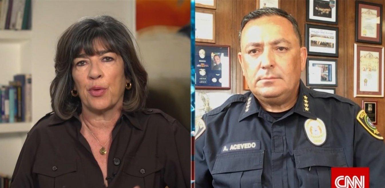 Αρχηγός Αστυνομίας Χιούστον σε Τραμπ: Κλείσε το στόμα σου