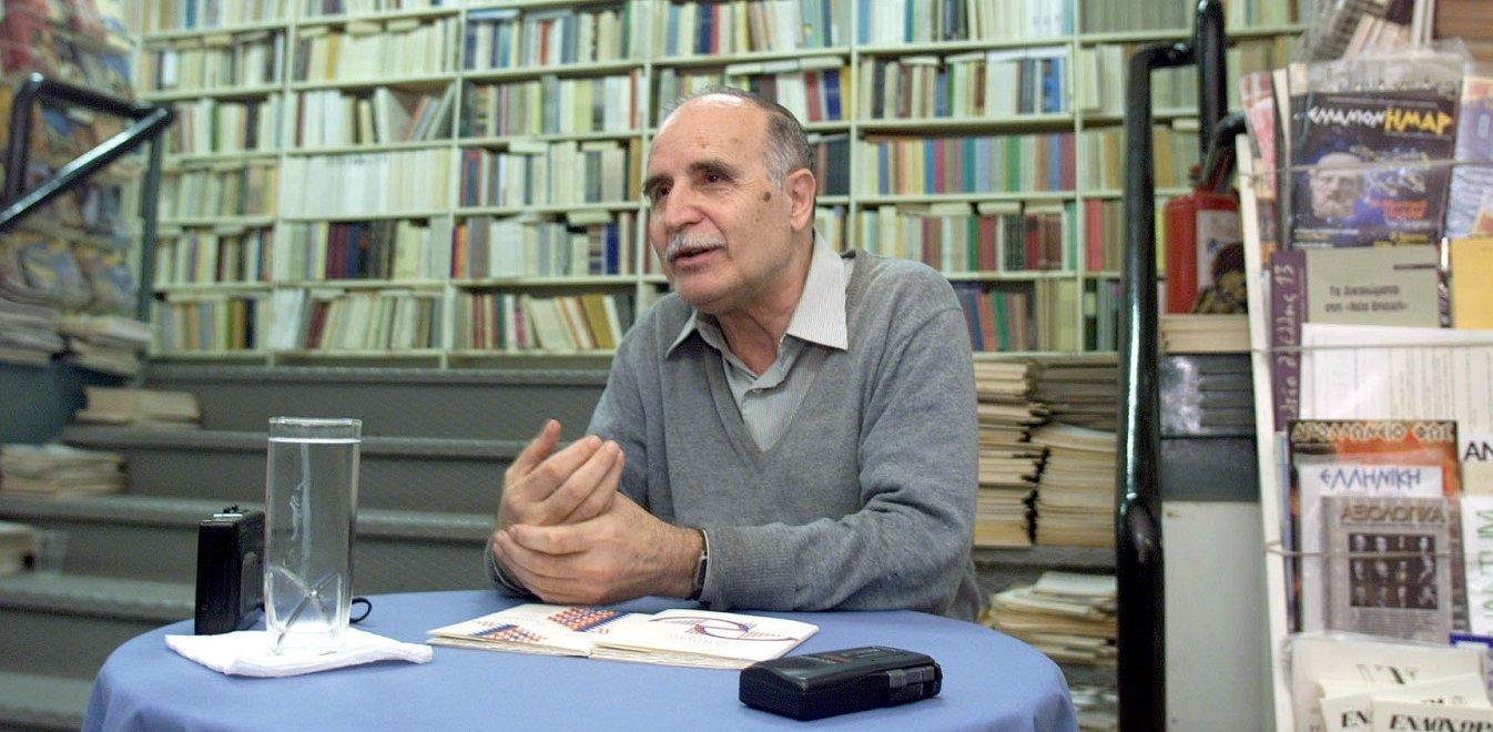 Ντίνος Χριστιανόπουλος: Πέθανε ο σπουδαίος και ανένταχτος ποιητής ...