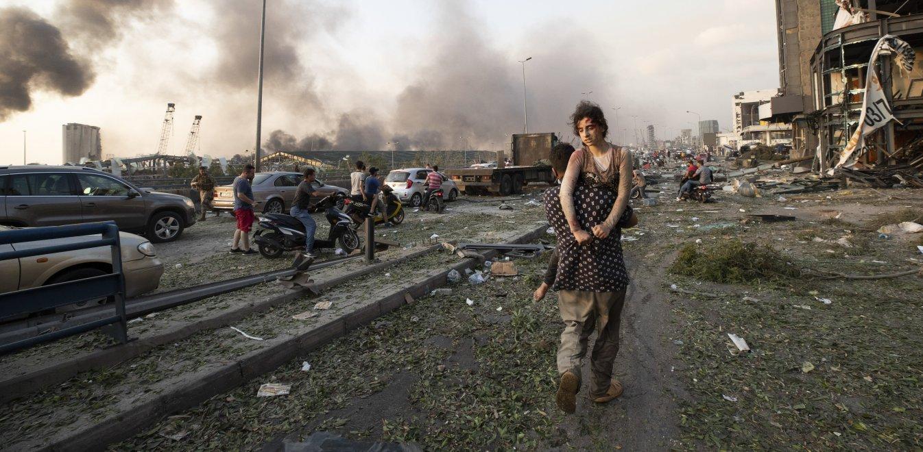 Έκρηξη στη Βηρυτό: Παρόμοια με τη Χιροσίμα - Δεκάδες οι νεκροί ...