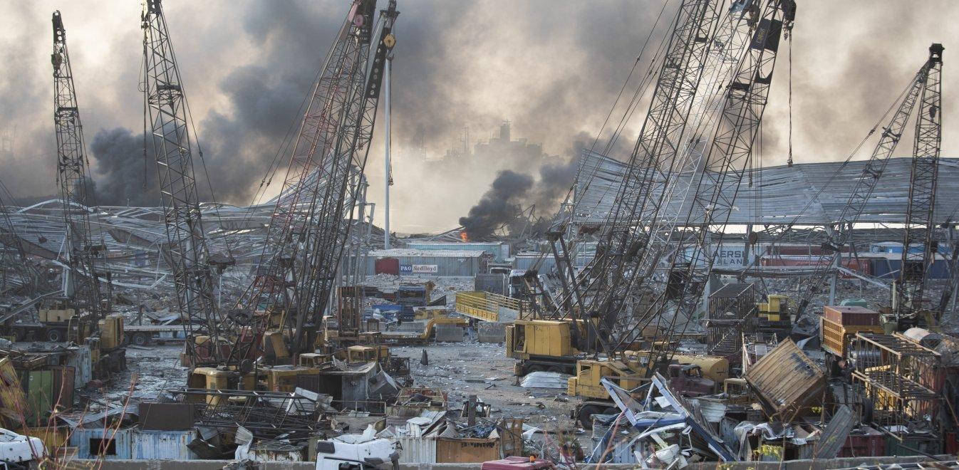 Βηρυτός: Το 70% της έκρηξης εκτονώθηκε στη θάλασσα - Γκρεμίστηκαν όλα σε ακτίνα 7χλμ.