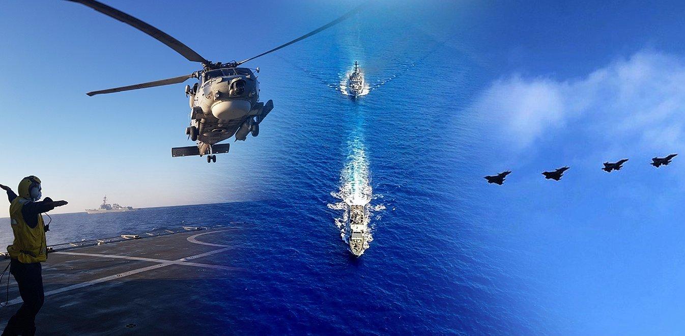 Αναβαθμίζονται οι Ένοπλες Δυνάμεις σε στεριά, αέρα και θάλασσα