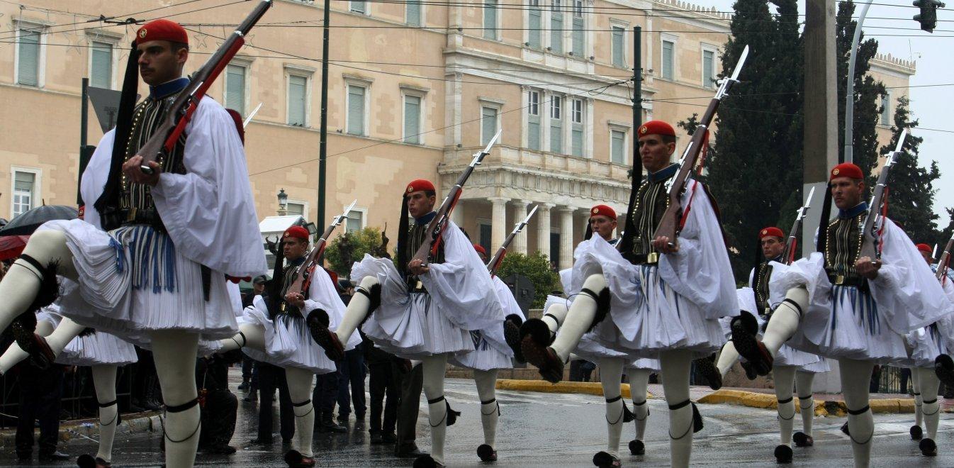 25η Μαρτίου, στρατιωτική παρέλαση