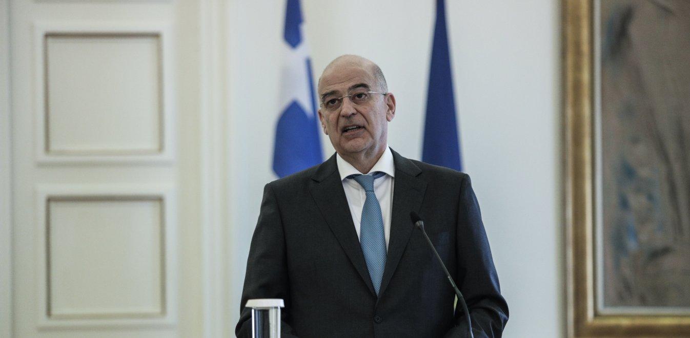 Νίκος Δένδιας: Κατήγγειλε τις τουρκικές προκλήσεις...