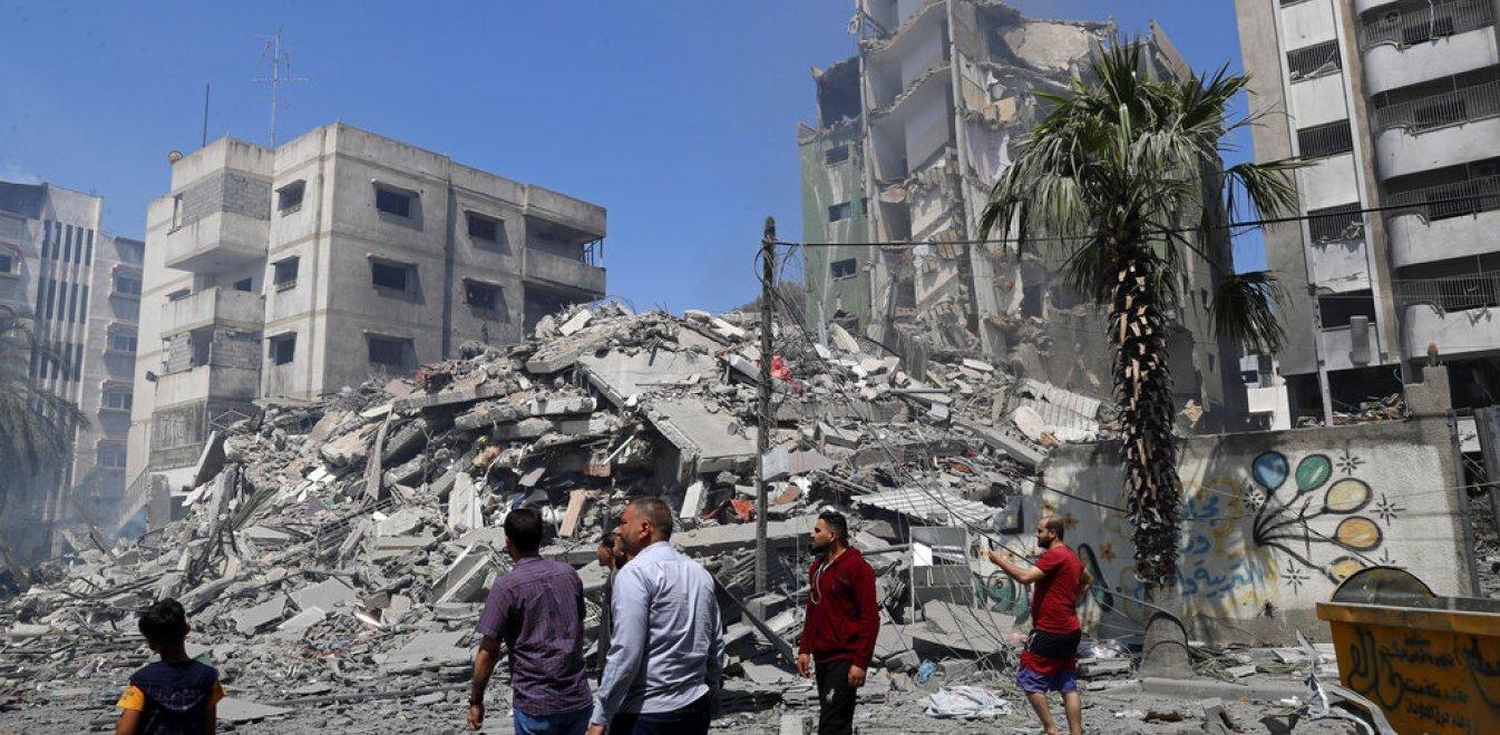 Λωρίδα της Γάζας: O ισραηλινός στρατός «χτύπησε» το σπίτι του πολιτικού  ηγέτη της Χαμάς | Έθνος