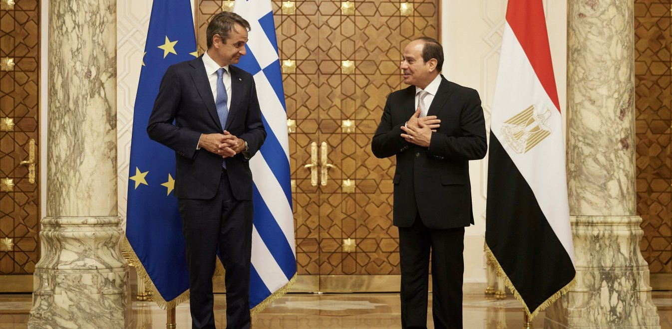 Mitsotakis and Sisi discuss closer Greek-Egyptian cooperation, supporting Cyprus and Libya 2