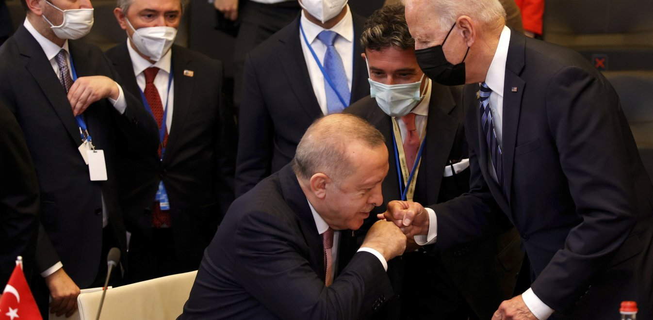 Ερντογάν προς ΗΠΑ: Είμαστε δύο χώρες - σύμμαχοι με βαθιά ριζωμένη ιστορία