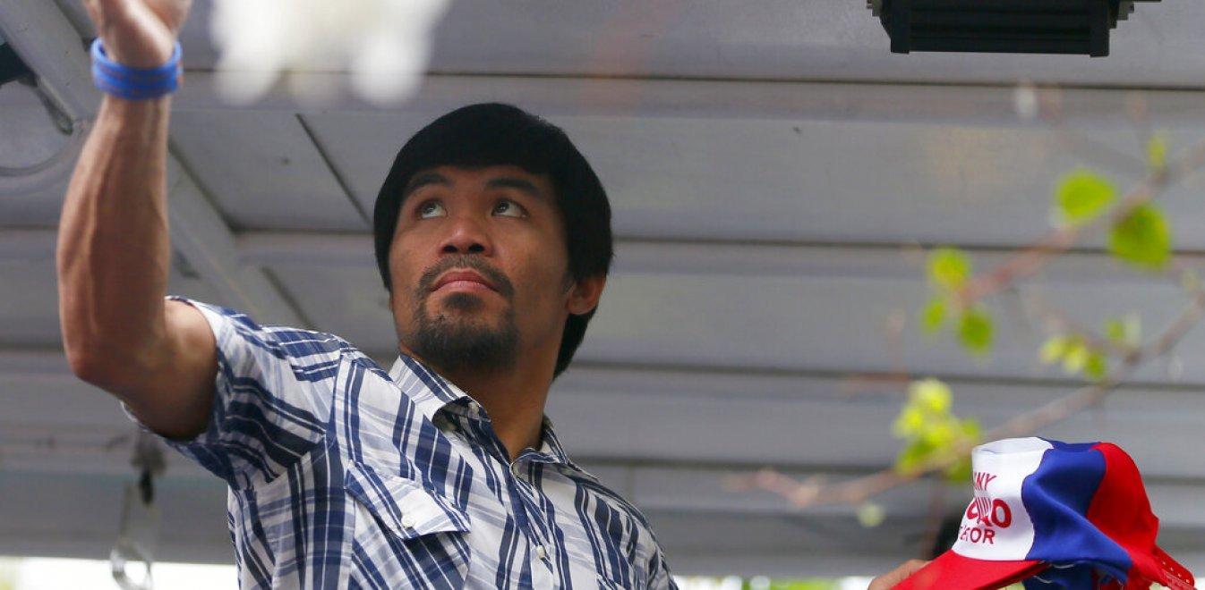 Φιλιππίνες: Υποψήφιος πρόεδρος ο αστέρας της πυγμαχίας Μάνι Πακιάο