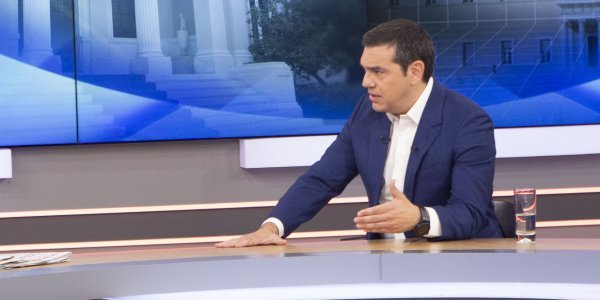 Tsipras: Turkey's moves are an indication of its weakness and isolation in the region