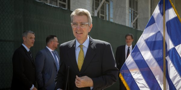 US Ambassador Pyatt: Our relationship with Greece is 100% solid
