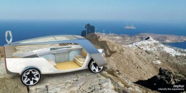 Το αυτοκίνητο του μέλλοντος καίει αέρα και έχει ελληνική υπογραφή