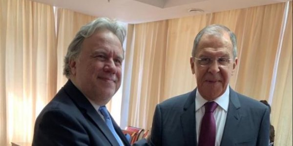 Katrougalos and Lavrov stress need for strengthening Greek-Russian relations