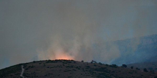 Wildfire on Evia: Four villages evacuated - One arrest