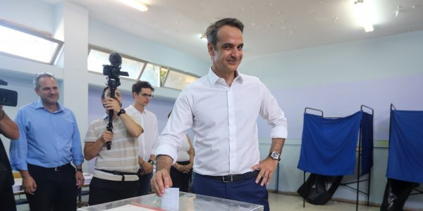 ND's Mitsotakis: Greeks taking their fate into their own hands