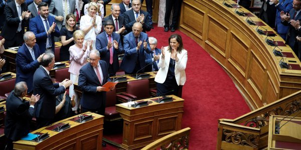 Constantinos Tasoulas elected new parliament president