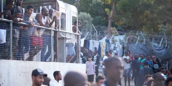 Frontex vessel rescues 51 migrants and refugees off Samos