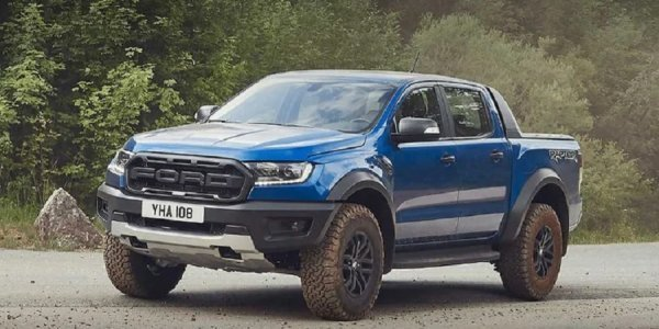 Το Ford Ranger Raptor.