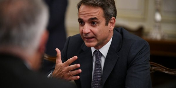 Mitsotakis in Cairo for 7th Trilateral Meeting of Egypt - Greece - Cyprus