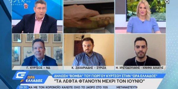 Δήλωση-«βόμβα» Κύρτσου: Τα λεφτά στην Ελλάδα φτάνουν μέχρι τον Ιούνιο