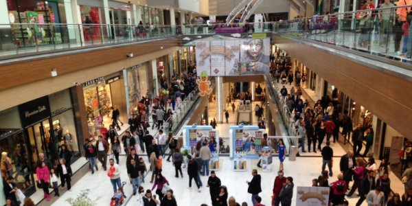 Shopping malls reopen for business after two-month shutdown