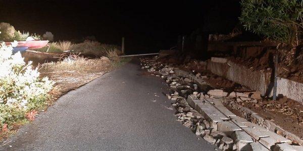 Κακοκαιρία Μπάλλος – Εύβοια: Βρέθηκαν τα συντρίμμια από το αυτοκίνητο του 69χρονου αγνοούμενου