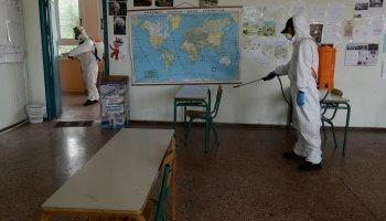 σχολεία, κορονοϊός, τάξεις