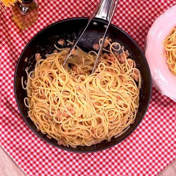 Συνταγή για αυθεντική καρμπονάρα