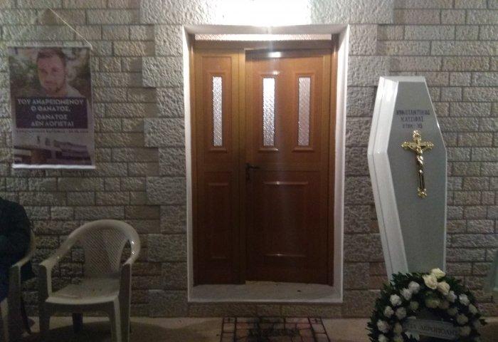 Αποκλειστικό: Στιγμές από την ολονυχτία στο σπίτι του Κωνσταντίνου Κατσίφα