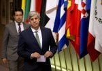 Eurogroup to continue on Thursday, Centeno says