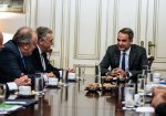 PM Mitsotakis meets with Greek Jewish officials, discusses initiatives to fight antisemitism