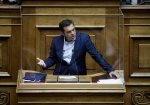 SYRIZA leader Tsipras meets with Central Macedonia governor Tzitzikostas