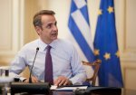 Mitsotakis to chair video conference on the coronavirus on Monday at 11:00