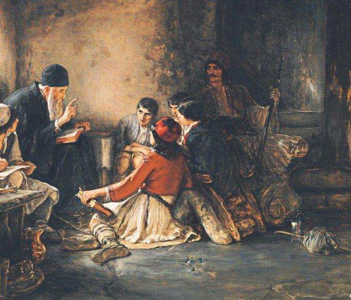Αποτέλεσμα εικόνας για επανασταση 21 πινδοσ