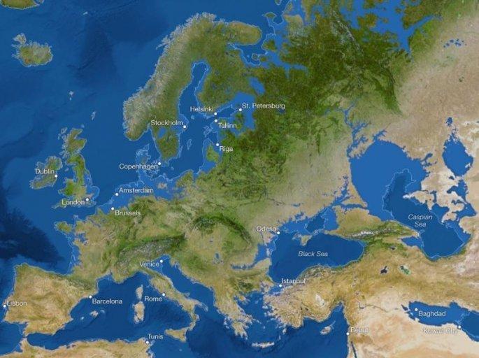 Χάρτης για την κλιματική αλλαγή