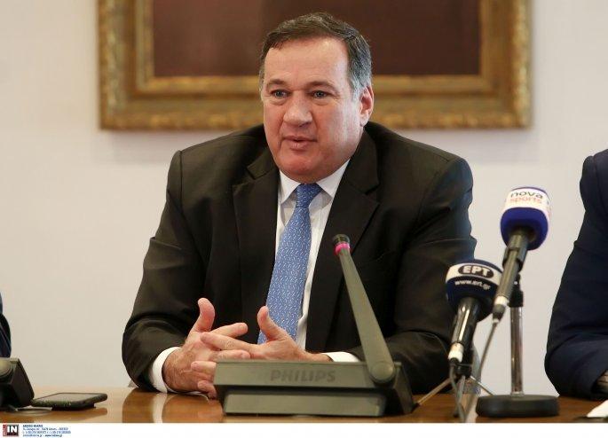 Ο πρόεδρος της ΕΟΕ Σπύρος Καπράλος