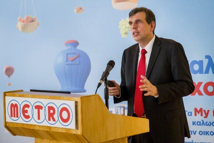 Αριστοτέλης Παντελιάδης, Επικεφαλής METRO - My Market