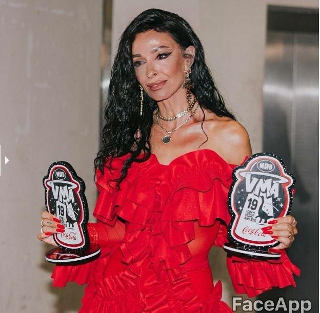 FaceApp celebrities, Ελένη Φουρέιρα
