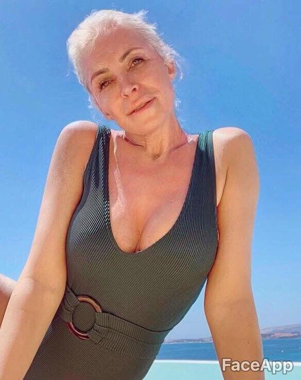 FaceApp celebrities, Κατερίνα Καινούργιου