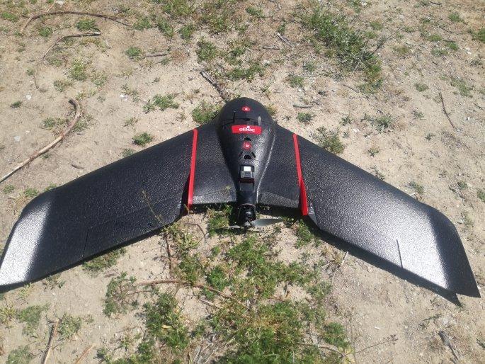 Drone στις καλλιέργειες στην Κοζάνη