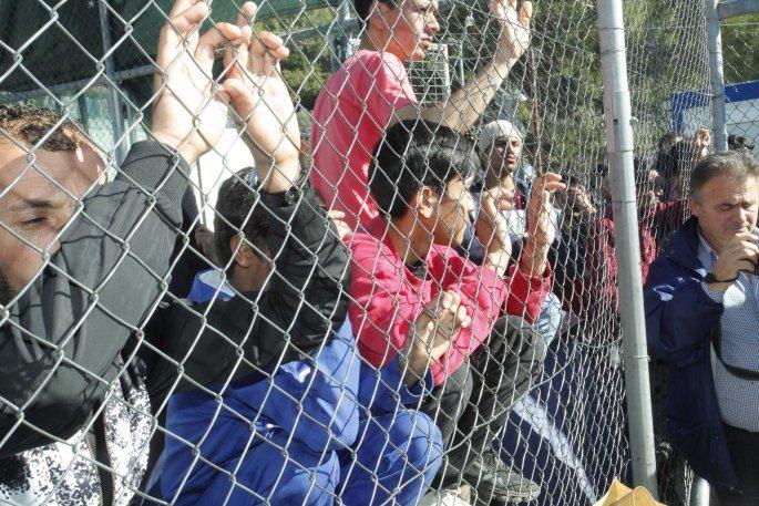 Πρόσφυγες στη Σάμο